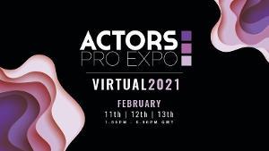 Actors Pro Expo Presents Virtual Events Next Month