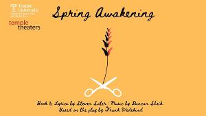 Temple Theaters to Present SPRING AWAKENING