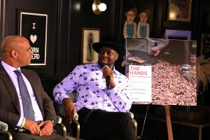 Wyclef Jean and Former Haitian Prime Minister Laurent Lamothe Discuss Leadership Lessons and Resilience at Nashville Event