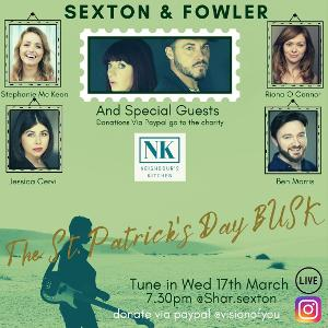 Sharon Sexton and Rob Fowler Announce Live Concert Event for St Patrick's Day
