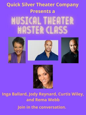 Quick Silver Theater Company Announces Musical Theater Master Class
