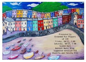 UNDER MILK WOOD to be Presented for One Weekend Only At UIW