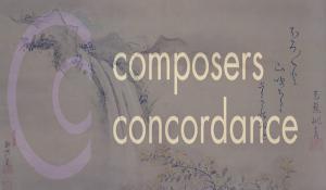 Composers Concordance Presents: O HAIKU MY HAIKU