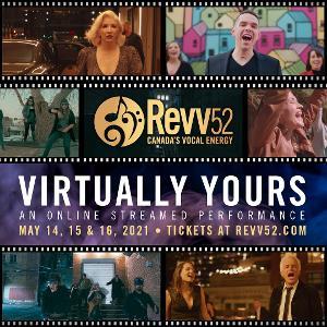 Revv52 Pop/Rock Ensemble presents: VIRTUALLY YOURS Streaming Concert