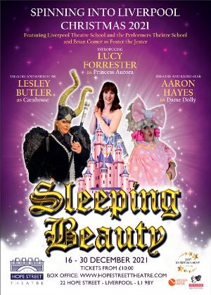 Lesley Butler and Aaron Hayes Will Lead SLEEPING BEAUTY at the Hope Street Theatre