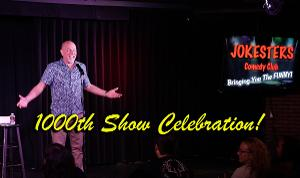 Jokesters Comedy Club Las Vegas Celebrates 1000th Show With $10 Tickets
