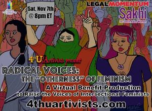 4thU Artivists Presents RADICAL VOICES: 'THE OTHERNESS' OF FEMINISM