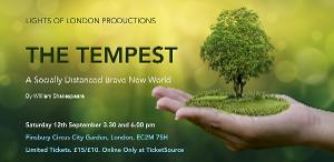 THE TEMPEST Comes To Finsbury Circus City Garden