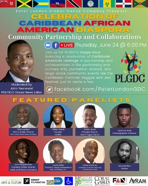 Peter London Global Dance Group Celebrates Caribbean Heritage Month