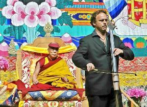 Cellist Michael Fitzpatrick Talks Dalai Lama Collaboration On Tom Needham's SOUNDS OF FILM