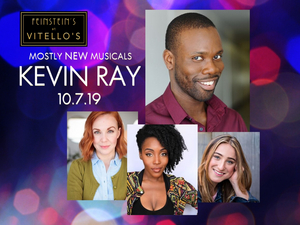 Rhett George And More Join The Cast Of Feinstein's At Vitello's Presents MostlyNEWmusicals