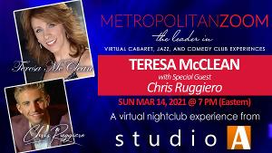 MetropolitanZoom Presents Teresa McClean with Chris Ruggiero Live