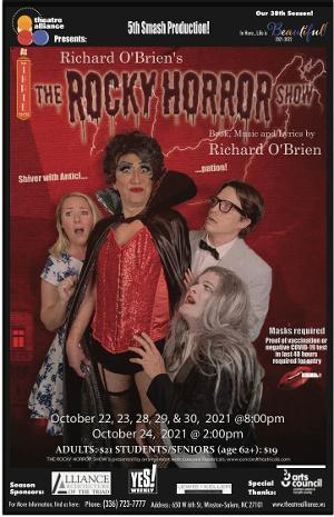 Winston-Salem Theatre Alliance to Present THE ROCKY HORROR SHOW LIVE