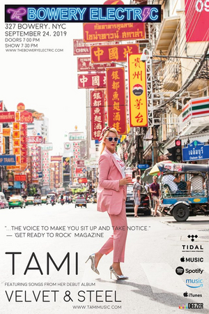 International Recording Artist Tami Makes NYC Debut
