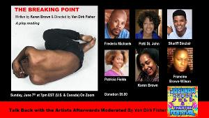 The JOCUNDA FESTIVAL Presents A Virtual Play Reading Of THE BREAKING POINT By Karen Brown