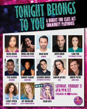 Kimberly Marable, Alexander Mendoza, Tyler McKenzie & More to Take Part in Class Act Community Playhouse Benefit Concert