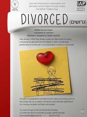 DIVORCED, THE PLAY to be Presented at Williamsburg Speakeasy Theater