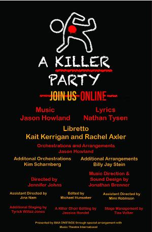 Northern Virginia Native Mimi Robinson Assistant Directs A KILLER PARTY: A MURDER MYSTERY MUSICAL