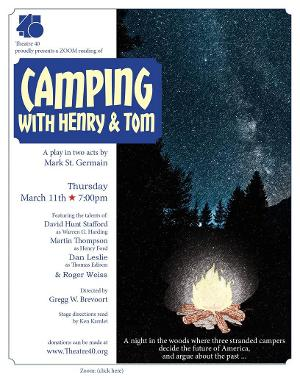 Theatre 40 Presents CAMPING WITH HENRY AND TOM