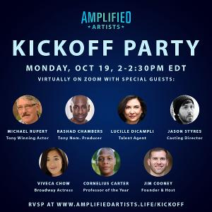 Celebrate the Launch of Amplified Artists With Michael Rupert,  Viveca Chow and More