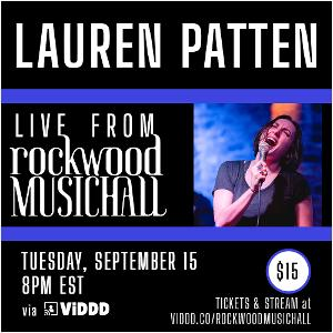Lauren Patten To Present Livestreamed Concert for Rockwood Music Hall's Stage 2