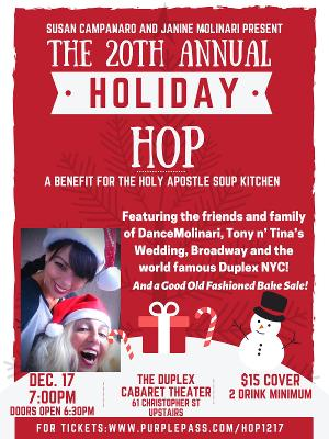 Dance Molinari Presents 20th Annual Holiday Hop Show December 17 At The Duplex Cabaret Theatre