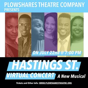 Plowshares Theatre Company Presents HASTINGS STREET Virtual Concert