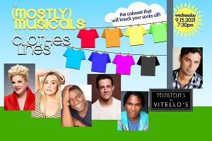 Sharon McNight, Emma Hunton, Eric B. Anthony & More to Star in (mostly)musicals: CLOTHES LINES