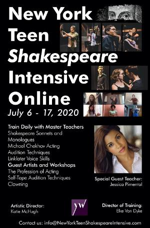 New York Teen Shakespeare Intensive Adapts For Learning Online