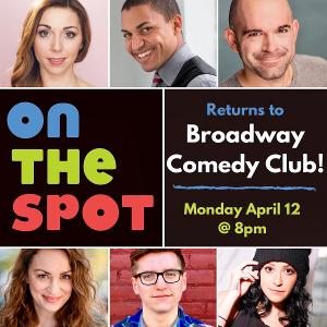 ON THE SPOT Makes Its Return Off-Broadway This Week