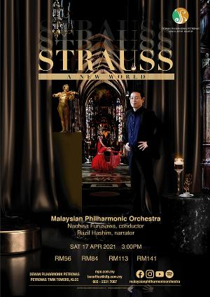 Malaysian Philharmonic Orchestra to Present THEMED STRAUSS: THE NEW WORLD This Month