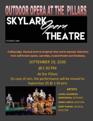 Skylark Opera Theatre To Entertain Senior Residents A The Pillars Of Prospect Park