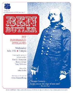 Theatre 40 Presents Play-Reading of BEN BUTLER