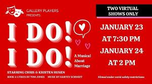 Gallery Players At The Jewish Community Center Of Greater Columbus To Produce I DO!, I DO!