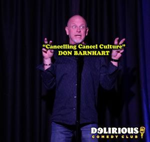 Comedian Don Barnhart Presents SPINAL DISINTEGRATION OF MAN Tour