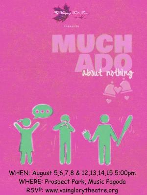 Shakespeare's MUCH ADO ABOUT NOTHING to be Presented for Free in Prospect Park