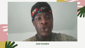 VIDEO: Art House Creates Crowdsourced Poem 'Just Breathe' In Jersey City