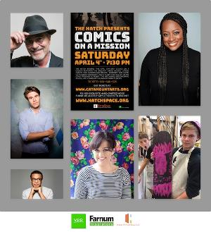 The Hatch to Present COMICS ON A MISSION Benefit At The Latchis Theater