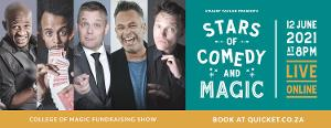 South African Stars of Comedy and Magic Unite For Virtual College of Magic Fundraiser Show