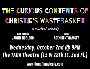 THE CURIOUS CONTENTS OF CHRISTIE'S WASTEBASKET Kicks Off Fall 2019 Emerging Artists Theatre's New Work Series