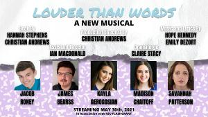 LOUDER THAN WORDS: A NEW MUSICAL World Premiere Demo Streams On Apple Music