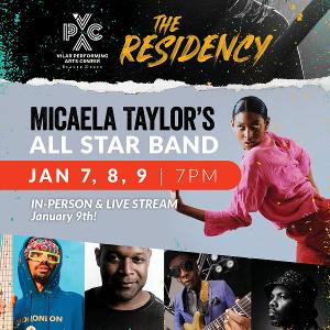 Micaela Taylor's All Star Band Presents World Premiere In-Person And Live Stream Event