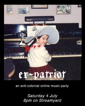 'Ex-Patriot' Concert to Stream on StreamYard, July 4