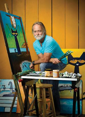 World Renowned Artist & Creator Of PETE THE CAT To Exhibit His Original Works In Roswell