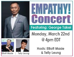 George Takei to Take Part in EMPATHY CONCERT Hosted by Telly Leung