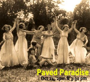 PAVED PARADISE An Outdoor Dance Performance & A Fundraiser Announced for Dixon Place