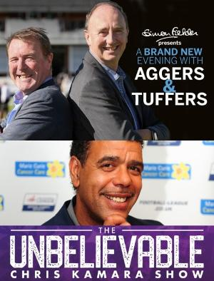 Ex-Footballer Chris Kamara and Cricket Legends Jonathan Agnew and Phil Tufnell Come to Kings Theatre, Portsmouth