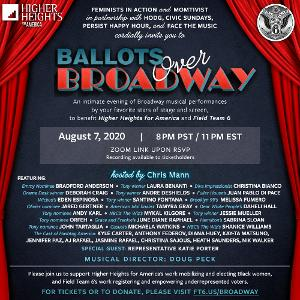 Orfeh, Andy Karl, Laura Benanti, Andre De Shields, Jessie Mueller and More Join BALLOTS OVER BROADWAY