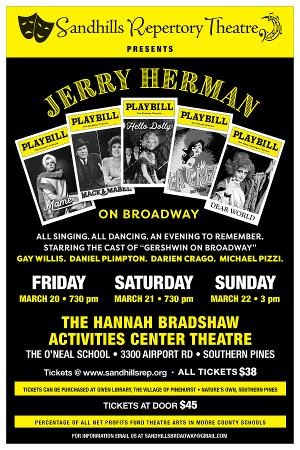 Jerry Herman On Broadway Comes to Sandhills Repertory Theatre