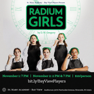 D. W. Gregory Visits Rhode Island For Reading And Discussion Of Bay View's RADIUM GIRLS